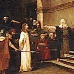 A Sentença de Jesus Cristo  (Copiada do Processo de Cristo, existente no Museu da Espanha)