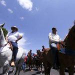 Vaqueiros da PB protestam em Brasília contra a proibição da vaquejada (veja video)