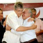 RC confirma convite formal para encontro com Temer em Brasília