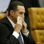 EU JÁ SINTO UM CHEIRIM DE POIVA : Ministro Luís Barroso diz que Renan não cumpriu a ordem judicial e cometeu crime ou é golpe de Estado