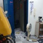 BOM DIA, E DANDO CONTINUIDADE A SÉRIE EXPLOSÕES DE HOJE : Bandidos explodem agências do Banco do Brasil, Bradesco, Correios e danificam porta de loja em Alagoa Grande