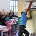 Prefeito destina verba do Carnaval para instalar ar-condicionado em escolas