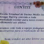 COMEÇOU HOJE O ANO LETIVO DA ESCOLA LUIZ GONZAGA BURITY