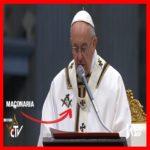 A MAIS ACERTADA PEDIDA DO MUNDO ; Na Páscoa, Papa pede redescoberta da capacidade de sentir vergonha