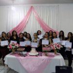 Secretaria de Assistência Social de Ingá entrega certificados do curso de Maquiagem (Agora Paraiba)
