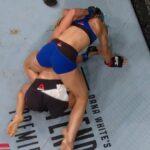 """Lutadora se caga durante porrada em combate no UFC Oklahoma e brinca: """"M**** acontecem"""""""