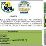 COMEMORAÇÃO ALUSIVA AO DIA DO AGRICULTOR – CONVITE