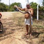 QUEM NÃO TEM DINHEIRO CONTA HISTORIA : Triste do Bicho que o outro engole Vavá da Luz em São Vicente Ferrer