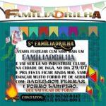 NOSSO AMIGO JADEILSON FERRAZ CONVIDA PARA A QUINTA FAMILIADRILHA