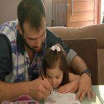 Aceitação e amor faz parte da história de pai de criança com síndrome de Down