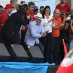 Imagens da visita do ex-presidente Lula a Campina Grande