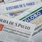 Manchetes dos principais jornais nacionais deste sábado