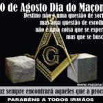 """""""20 DE AGOSTO – DIA DO MAÇOM"""" MAS O QUE É SER MAÇOM?"""