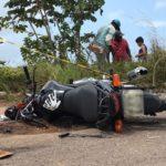 UM BURACO, UMA VIDA : Jovem morre em acidente entre moto e ônibus no Conde, litoral sul da PB