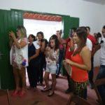 ONTEM,22/09, COM UM DESFILE DE MODAS FOI INAUGURADO O SALÃO DE ARTESANATO DA AIOTAI
