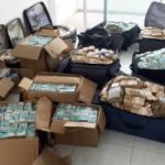 PRF encontra mala com 1,2 milhão de reais durante blitz