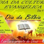 DIA DA BÍBLIA E DA CULTURA EVANGÉLICA