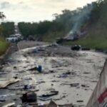 LAMENTÁVEL : Identificados os sete paraibanos mortos no acidente ocorrido em Minas Gerais – VEJA VÍDEOS E FOTOS
