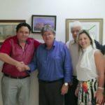 Mais adesões: prefeitos de Serra Branca e Emas anunciam apoio à pré-candidatura de João