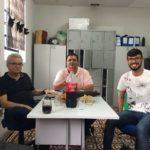 ENGENHEIROS DO ESTADO VISITAM ESCOLA ABEL DA SILVA NO INGÁ