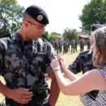 TÁ MELHORANDO : Policial Que Matou Dois Bandidos Em Assalto É Promovido Por Bravura
