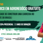Saiu o resultado preliminar do Processo Seletivo 2018/1 do Curso Técnico em Agronegócio.
