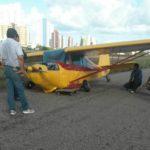 Aeroclube descumpre decisão do COMAER e avião se envolve em acidente na pista