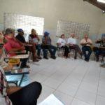 . Reunião do CMDRS( Conselho Municipal de desenvolvimento rural sustentável de Ingá)  Ingá-PB, em 2018.