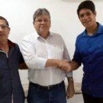 SÓ FALTA TU, BRUTUS ! :Prefeito do partido de Romulo Gouveia adere à pré-candidatura de João Azevedo