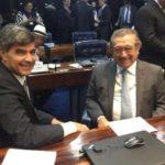 """José Maranhão 'sela' aliança do MDB com PR: """"Chapa da verdadeira oposição está sendo construída"""""""