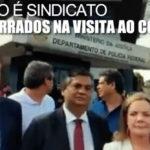 Romaria frustrada para ver o condenado. Políticos barrados na visita a Lula indignados com determinação da Justiça