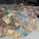 Polícia confronta suspeitos de ataque a banco, recupera dinheiro e encontra explosivos na Paraíba