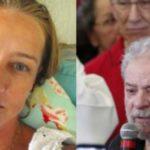 Atriz vai até onde Lula está preso e tem atitude inesperada; vídeo
