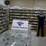 NA PARAIBA ; Operação Iris II da Receita Federal apreende R$ 3 milhões em óculos e caixas de som contrabandeados