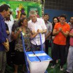 Ricardoentrega equipamentos para produtores assistidos pelo Procase no ODE de Taperoá