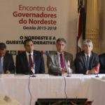 No encontro de Governadores, Ricardo se posiciona contra privatização da Eletrobras e da Chesf