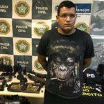 Policiais apreendem com miliciano mesmo modelo de arma usado na morte de Marielle