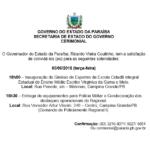 GOVERNO DO ESTADO DA PARAÍBA – CONVITE