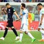 Argentina leva baile da Croácia e se complica de vez na Copa do Mundo