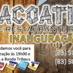 BAR E RESTAURANTE REGIONAL ITACOATIARAS – CONVITE
