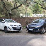 Toyota Yaris Sedan encara o rival Honda City , Quem ganha ?
