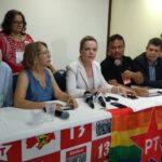 UM GIRASSOL NO JARDIM DO LULA: 'Queremos muito ter o governador Ricardo na campanha de Lula', diz Gleisi Hoffmann