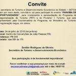 SECRETARIA DE ESTADO DO TURISMO E DO DESENVOLVIMENTO ECONÔMICO- CONVITE