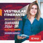 GRANDE OPORTUNIDADE VESTIBULAR ITINERANTE – INSCRIÇÕES GRATUITAS