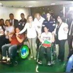 Com carta de Lula grevistas de fome encerram greve em cadeira de rodas