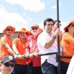 PREFEITO DE ITATUBA ARON RENÉ MOSTROU FORÇA E ACEITAÇÃO QUANDO DA PASSAGEM DA CARAVANA GIRASSOL