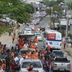 Durante carreata em Campina, João destaca investimentos em mais de R$ 1 bi no município
