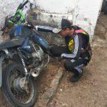 POLICIAL : Policia Civil de Ingá recupera moto e e entrega ao verdadeiro dono