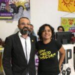Candidato a governador pelo PSOL denuncia perseguição de Cartaxo a sua candidata a vice