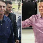 Bolsonaro tem 59% dos votos no 2° turno; Haddad, 41%, diz pesquisa BTG/FSB